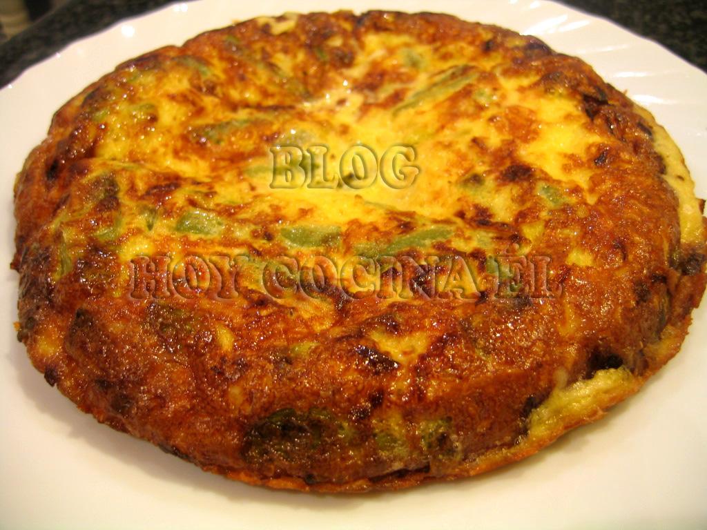 Frittata de jud as verdes y queso robochef hoy cocina - Calorias de las judias verdes ...