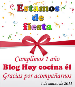especial primer aniversario del blog