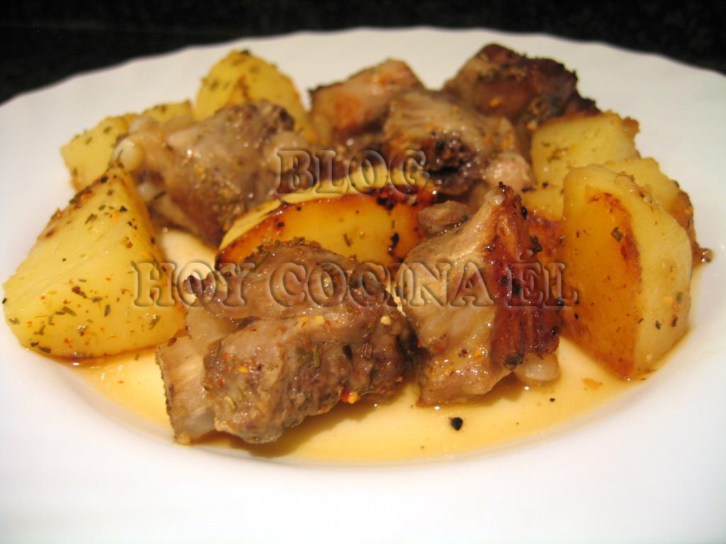 Patatas robochef hoy cocina l robot de cocina - Patatas con costillas de cerdo ...