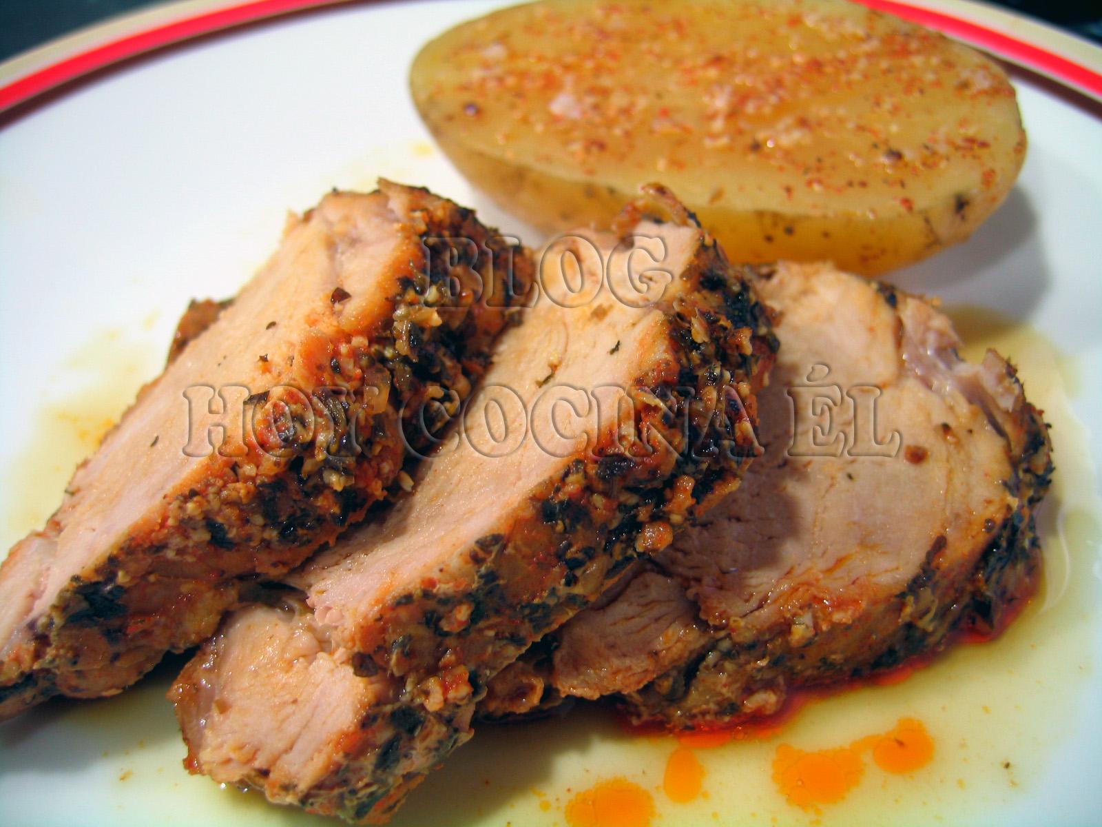 Image gallery solomillo - Solomillo de ternera al horno con mostaza ...
