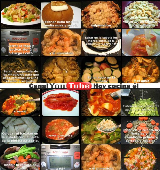 Cocina Youtube | Youtube Robochef Hoy Cocina El Robot De Cocina