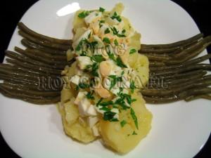 Ensalada_patatas_ judías verdes